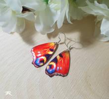 Peacock Butterfly by TrollGirl