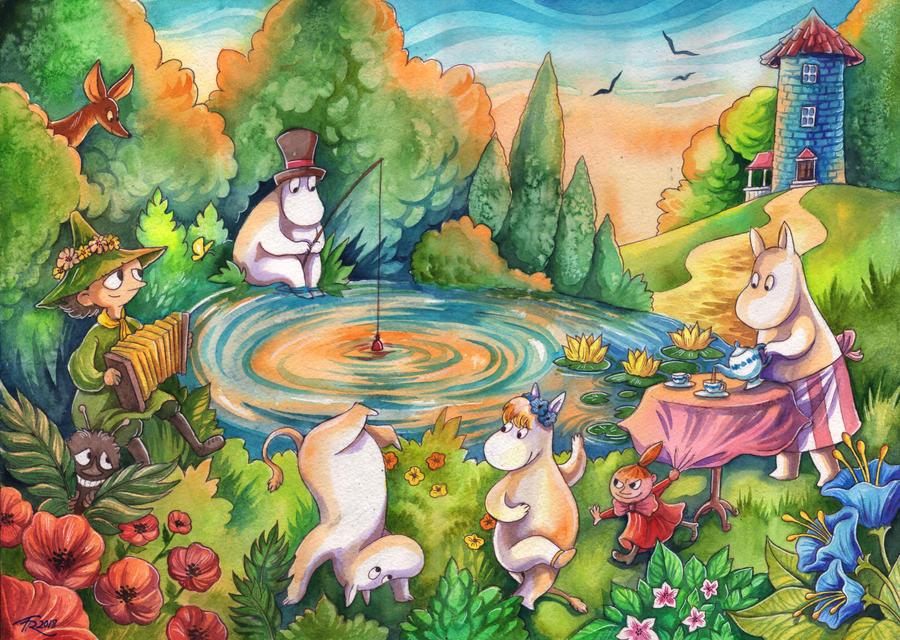 Moomins II by TrollGirl