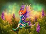 Dragon Rider by TrollGirl