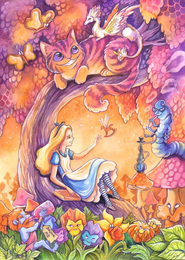Purple Wonderland by TrollGirl