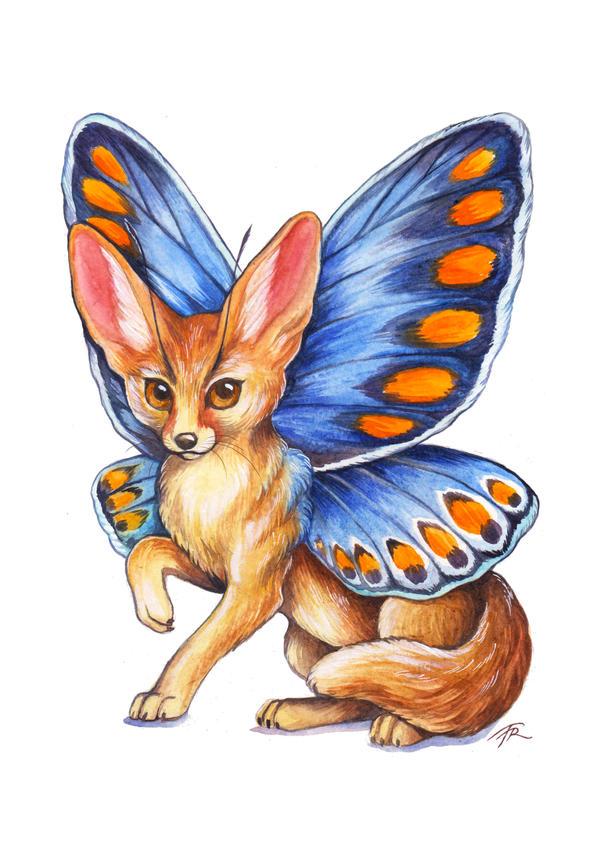 FairyFox - Fennec by TrollGirl