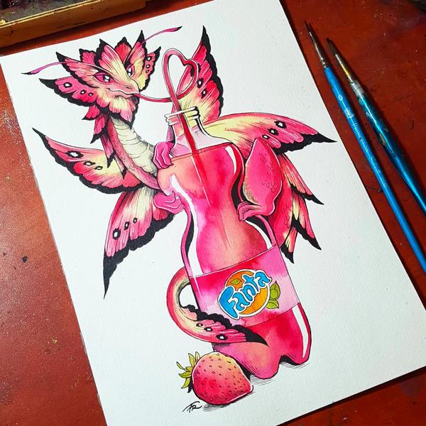 Strawberry by TrollGirl