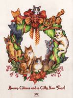 Catmas 2018 Card by TrollGirl