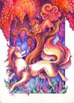 Autumn Foxfire by TrollGirl