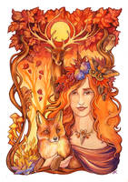 Autumn Queen by TrollGirl