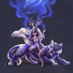 Moon Woman by TrollGirl
