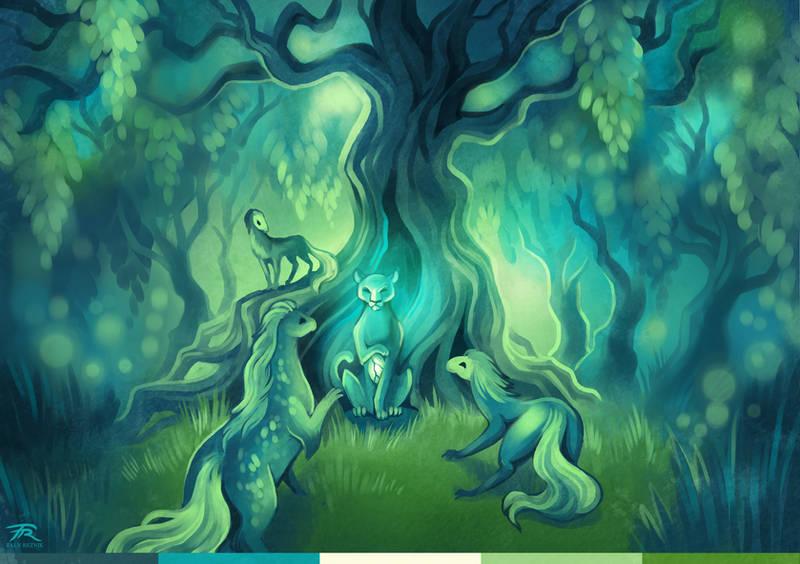 [TWWM] What Dwells Beneath the Canopy by TrollGirl