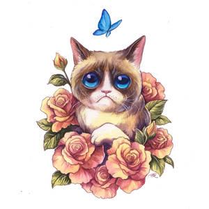 Grumpy Goodbye by TrollGirl