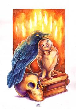 Owlyraphale and CrowLey