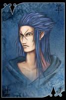 VII Saix - Organisation XIII by Clange-kaze