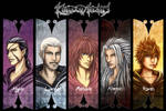 Organisation XIII Part2 by Clange-kaze