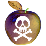 Toxic apple day - halloween