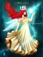 Child Of Light - Aurora by Clange-kaze
