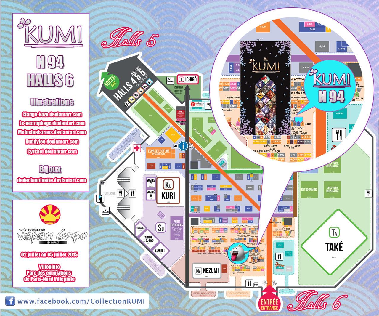 Plan Japan Expo 2015 - KUMI - N94 by Clange-kaze