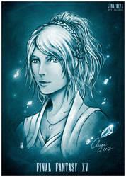 Lunafreya - FINAL FANTASY XV by Clange-kaze