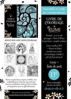 LIVRE DE COLORIAGE 2 KUMI - VPC 2017 by Clange-kaze