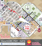 JAPAN EXPO 2018 - Plan P691 by Clange-kaze