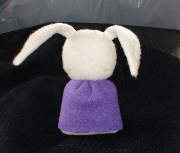 My First Plushie by MochiBunni