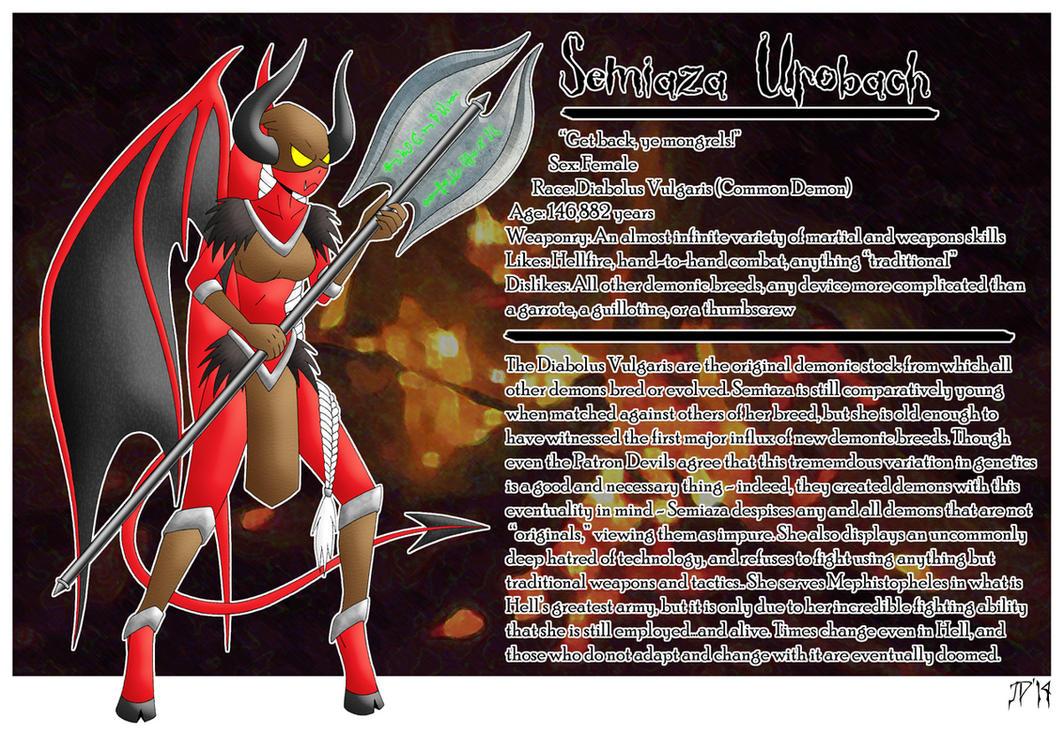 Semiaza Urobach Reference by Azadeth