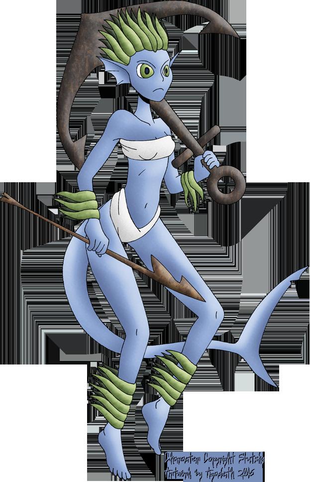 Ship Killer Mermaid by Azadeth