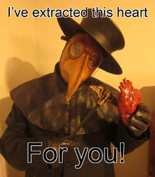 Happy VD Plague Doctor by Azadeth