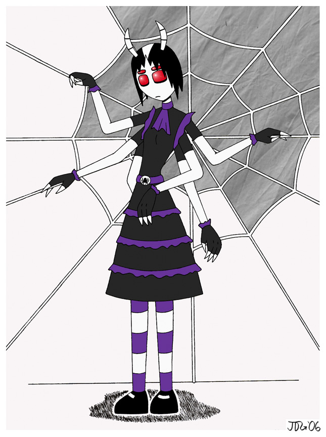 Loligoth Spidergirl by Azadeth