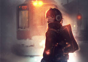 Manipulation Anime Girl XI [Winter] by LeftDC