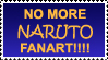 Anti Naruto Stamp by OneLovelySin