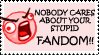 Anti-Fandom Stamp by MachinegunAngel