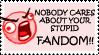 Anti-Fandom Stamp by OneLovelySin