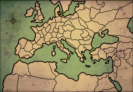 Medieval Total War map