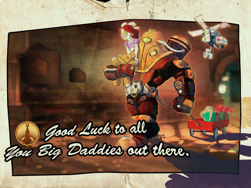 Good Luck Big Daddies by RC-Kola