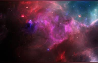 Cosmos X - Wallpaper by RedXen