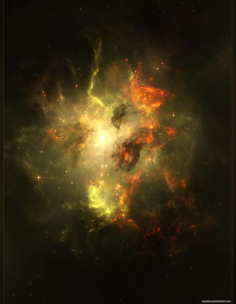 Cosmos IX by RedXen