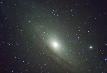 Andromeda Galaxy by RedXen