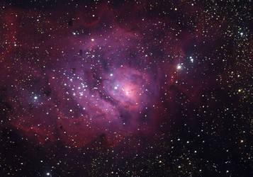 M8 Lagoon Nebula by RedXen