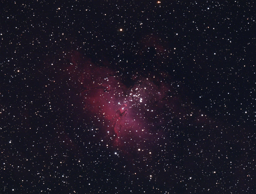 M16 Eagle Nebula by RedXen