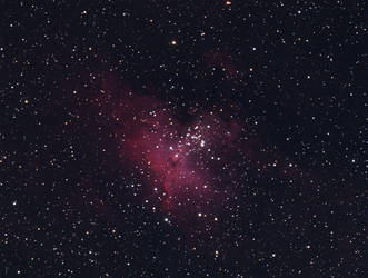 M16 Eagle Nebula by RedXen