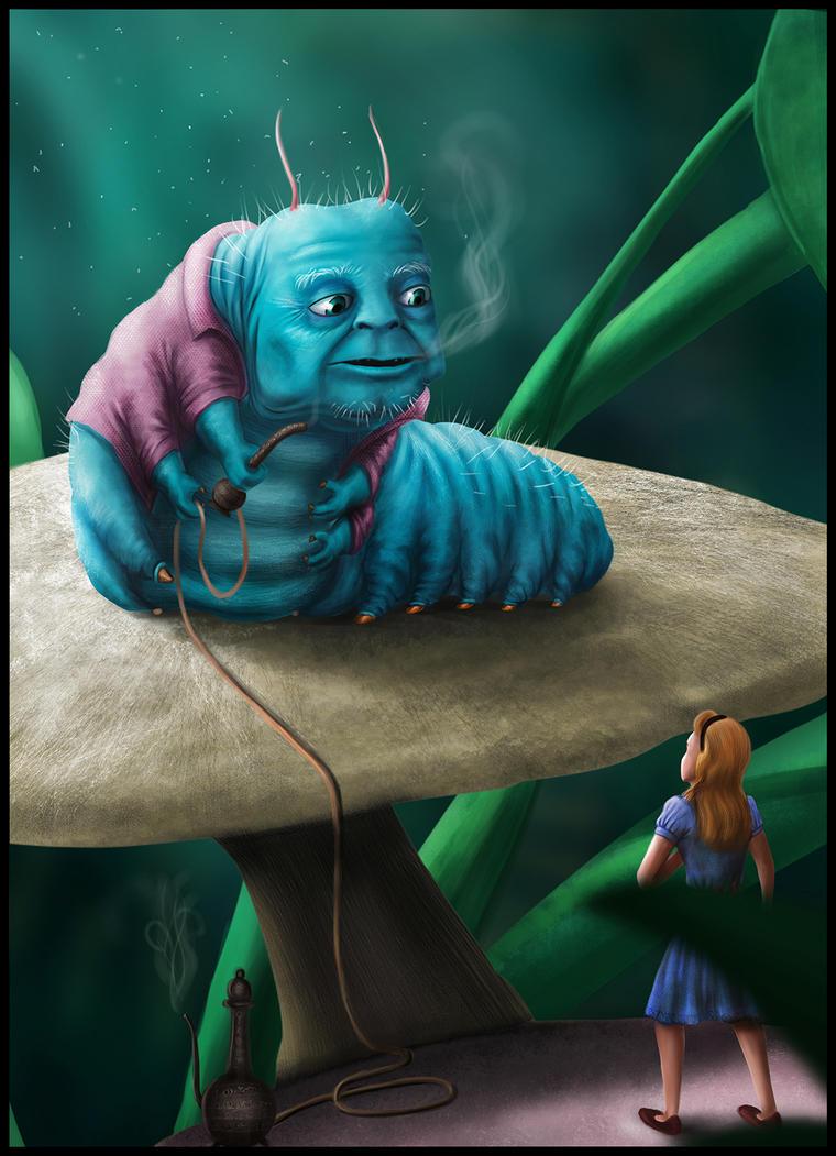 Caterpillar -Alice by shwaaz