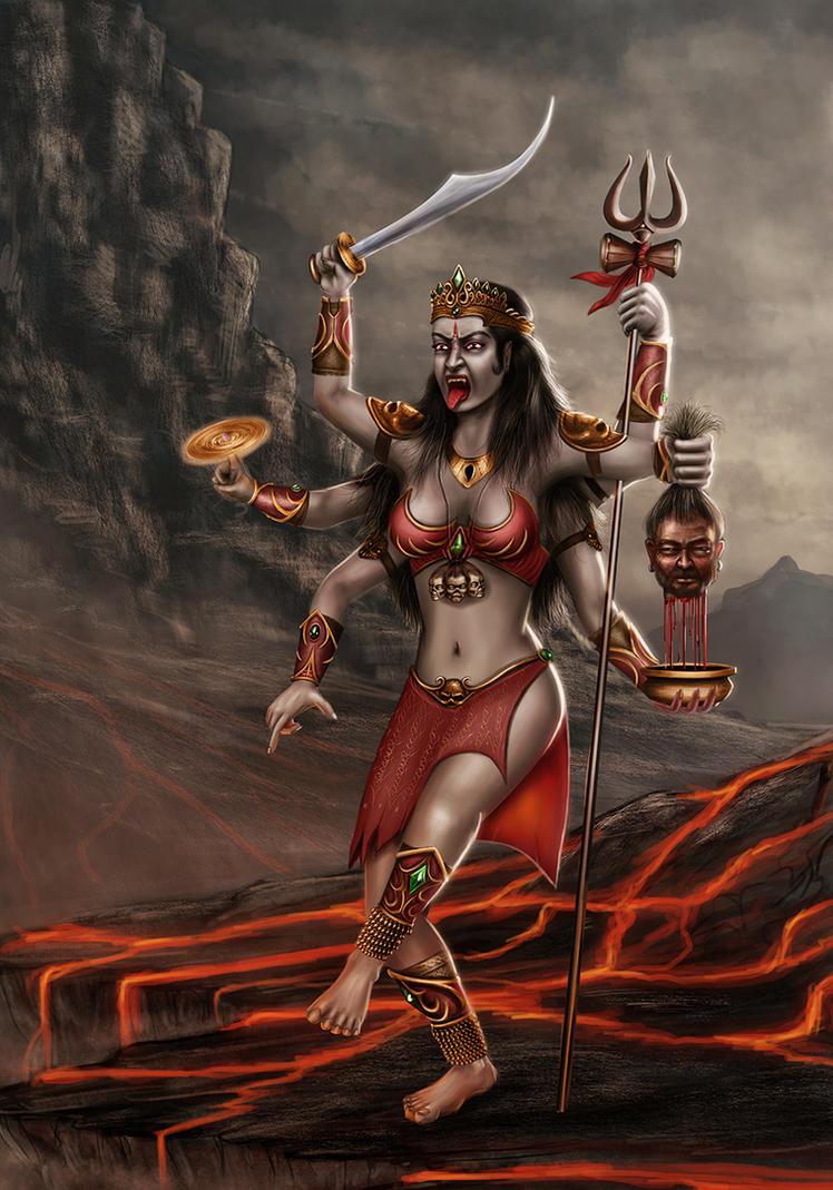 Goddess of death by shwaaz