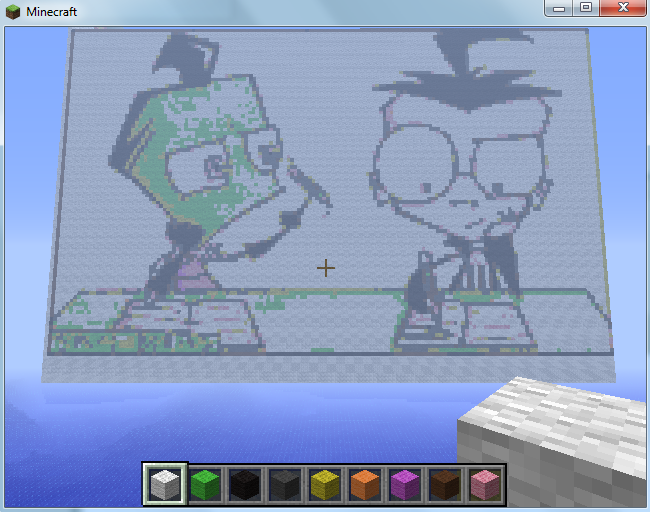 Classroom Boredom 1 Minecraft Creation by Pat-The-Kitsune
