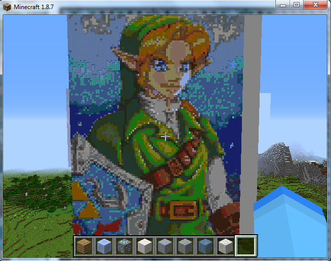Video Game Pixel Art On Minecraft Pixelart Deviantart