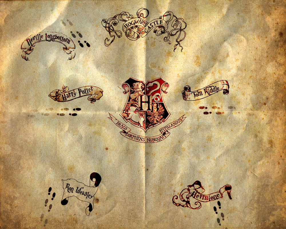 Marauders Map By Human Born On Mars