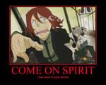 Come on Spirit
