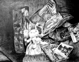 Wonderland Still Life by alyprincess221