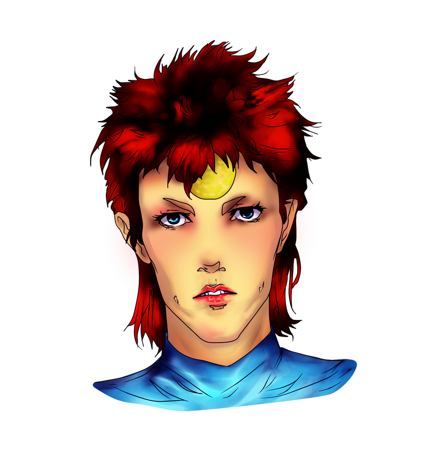 Ziggy Stardust by alyprincess221