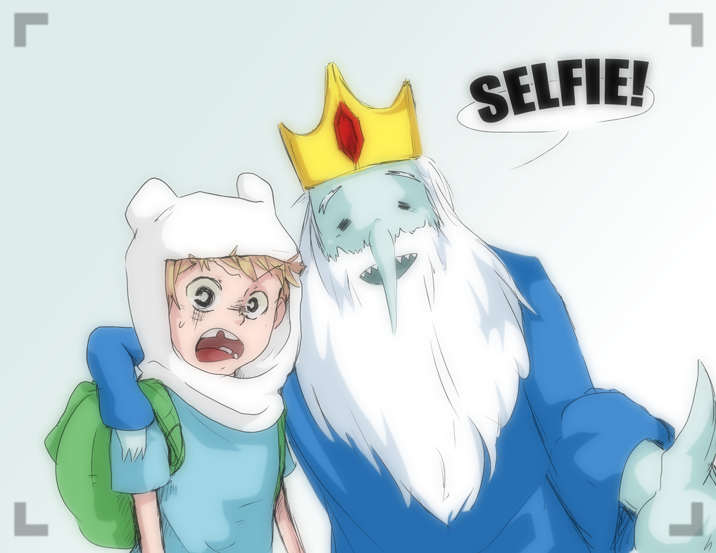 Doodle_Ice King's Selfie by alyprincess221