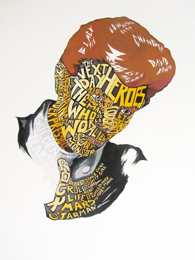 Typography Portrait Tutorial Deviantart Muro Larawan Ng
