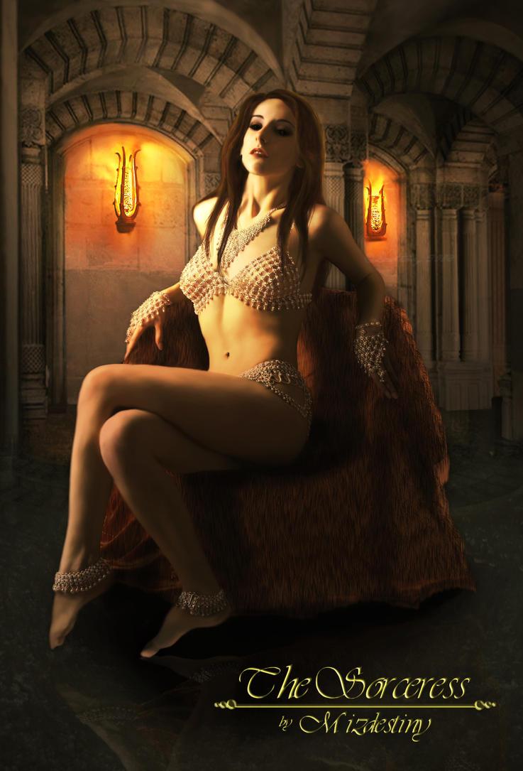 The Sorceress by mizdestiny