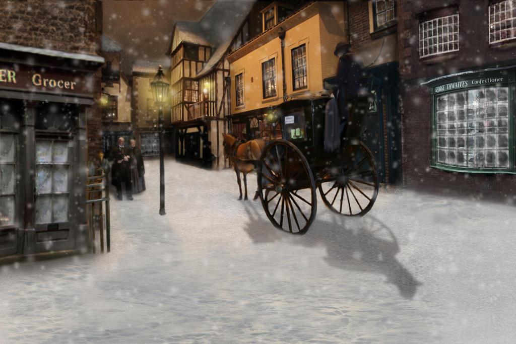 victorian christmas scenes - photo #33